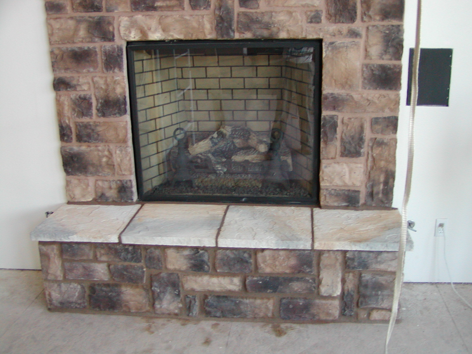 Cultured stone fireplace surround - Cultured Stone Fireplace Surround 52