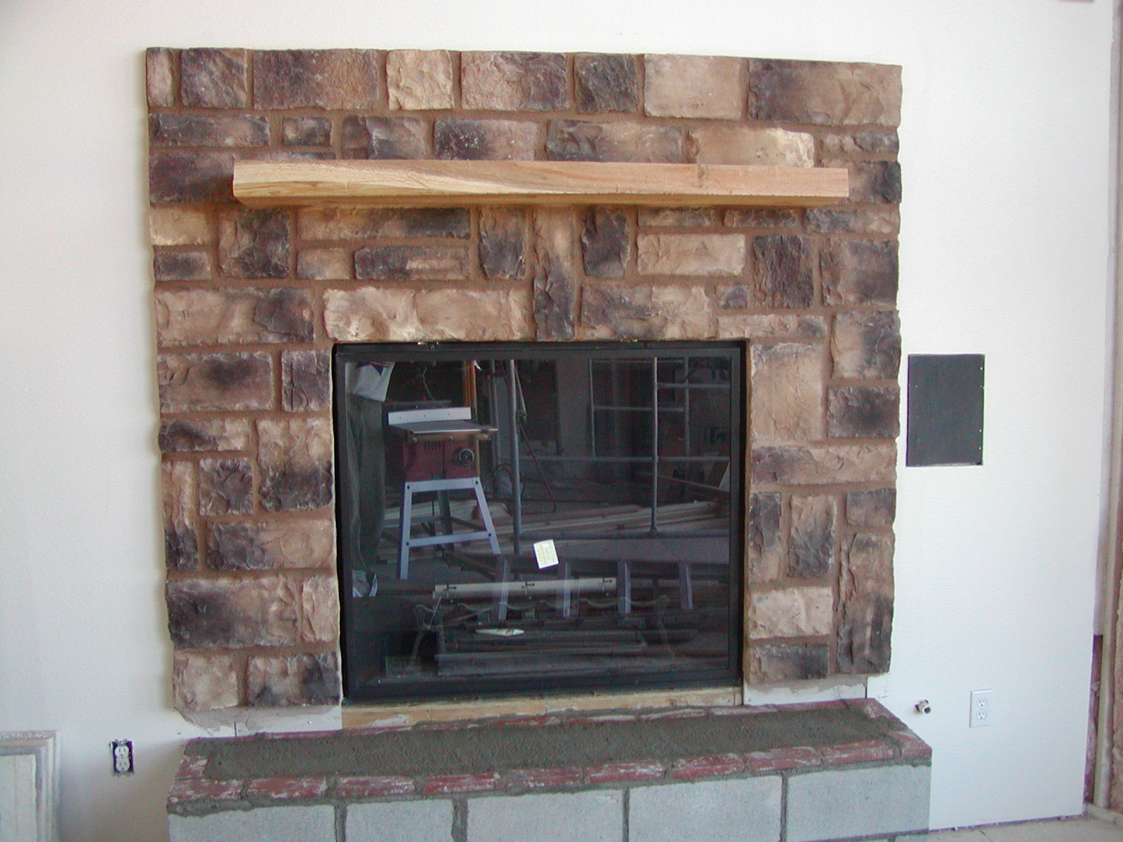 Cultured Stone Fireplace Face